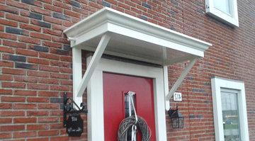 Houten-deurluifel