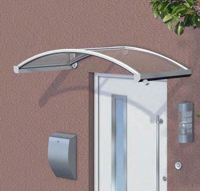 Luifel voordeur met acrylbeglazing