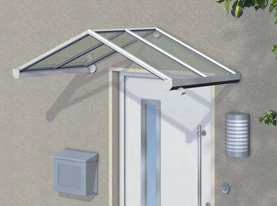 Overkapping boven voordeur