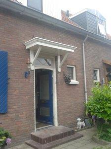 Deurluifel Delft met sierarmen